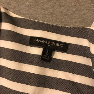Banana Republic Tops - Banana Republic | Striped Wrap Blouse